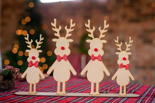 Adorable Reindeer Center Piece