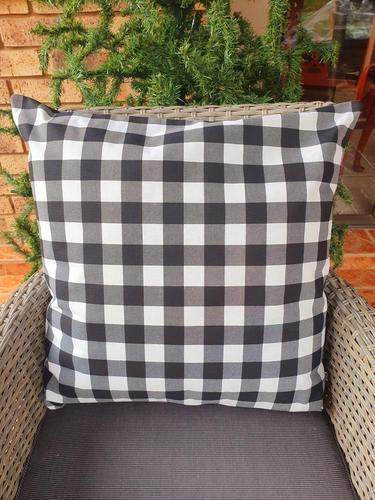 Black & White Buffalo Cushion