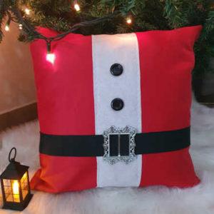 Santa Claus Christmas cushion