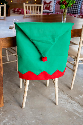 Chair Cover (Elf Hat)
