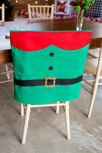 Bubbles Floppy-Bottom Chair Cover (Elf Suit)