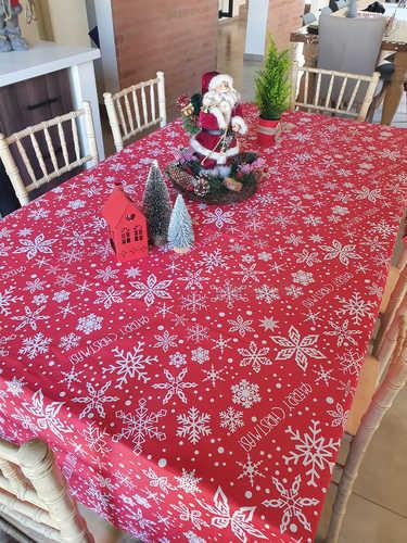 Merry Christmas tablecloth