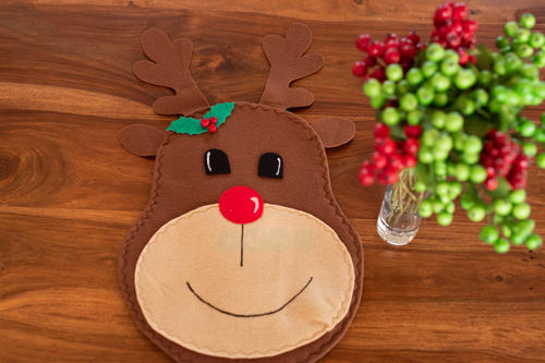 RUDOLPH SHINY-NOSE PLACEMAT