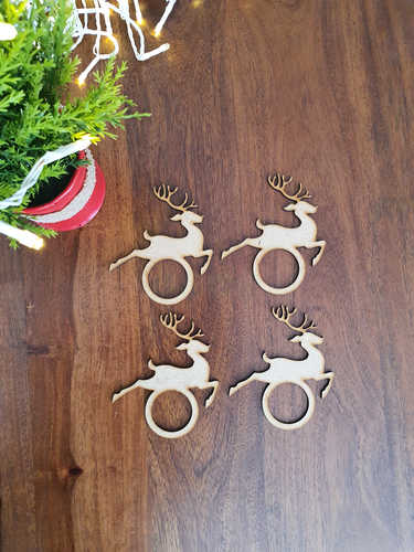 Reindeer napkin rinngs