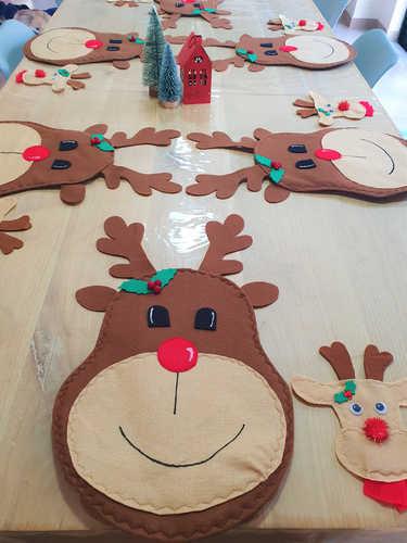 Reindeer placemat