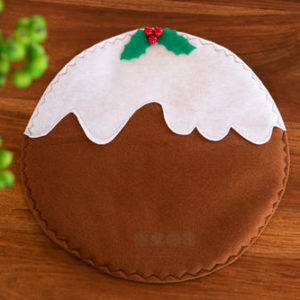 Round Pudding Placemat