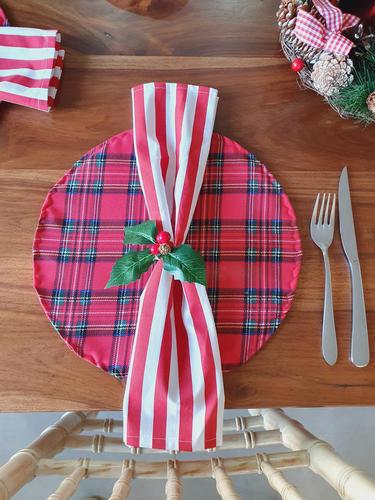 Tartan Christmas Placemat