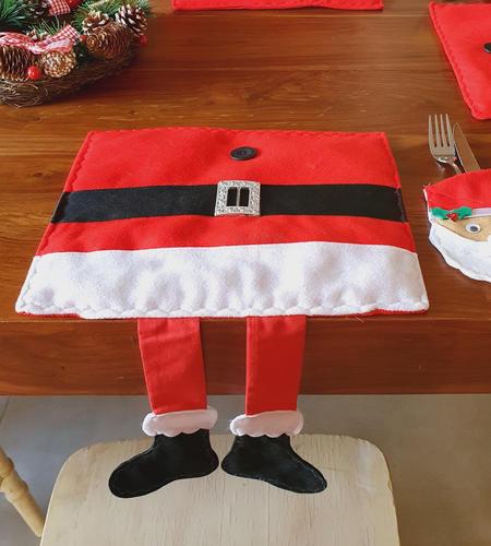 Santa Hanging Legs