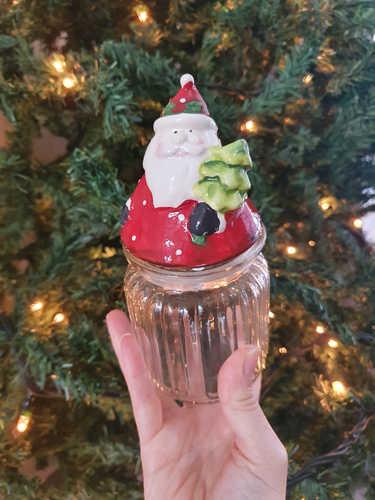 Santa jar