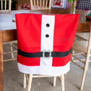 Santa Suit Chair Covers