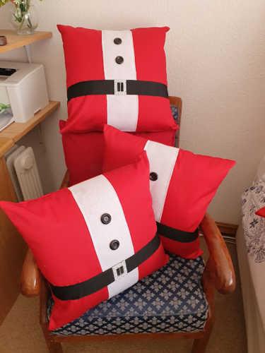 Santa belly cushion