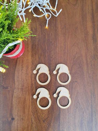 Santa hat napkin rings