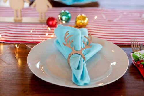 Antlers napkin rings