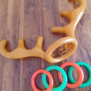 Inflatable Reindeer Antlers Game