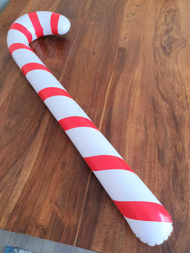Inflatable large Candy Cane